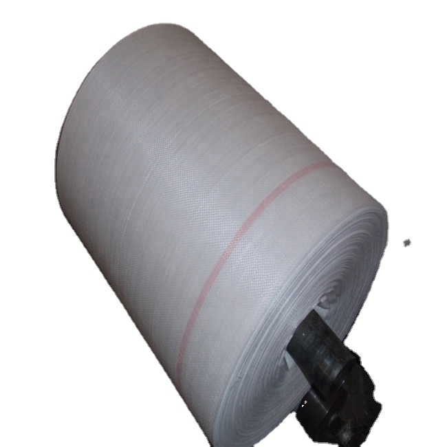 200gsm white fabric sheet PP Woven Fabric Roll Eco-friendly Degradable Recycled Polypropylene