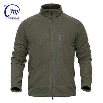 High Quality Outdoor Warm Comfortable Army Military Tactical Fleece Jacket