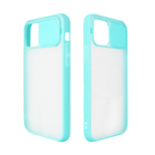 Push Pull Camera Lens Slide Semilucent Back Case Matte Skin Translucent Hard Back Cover For Iphone 12
