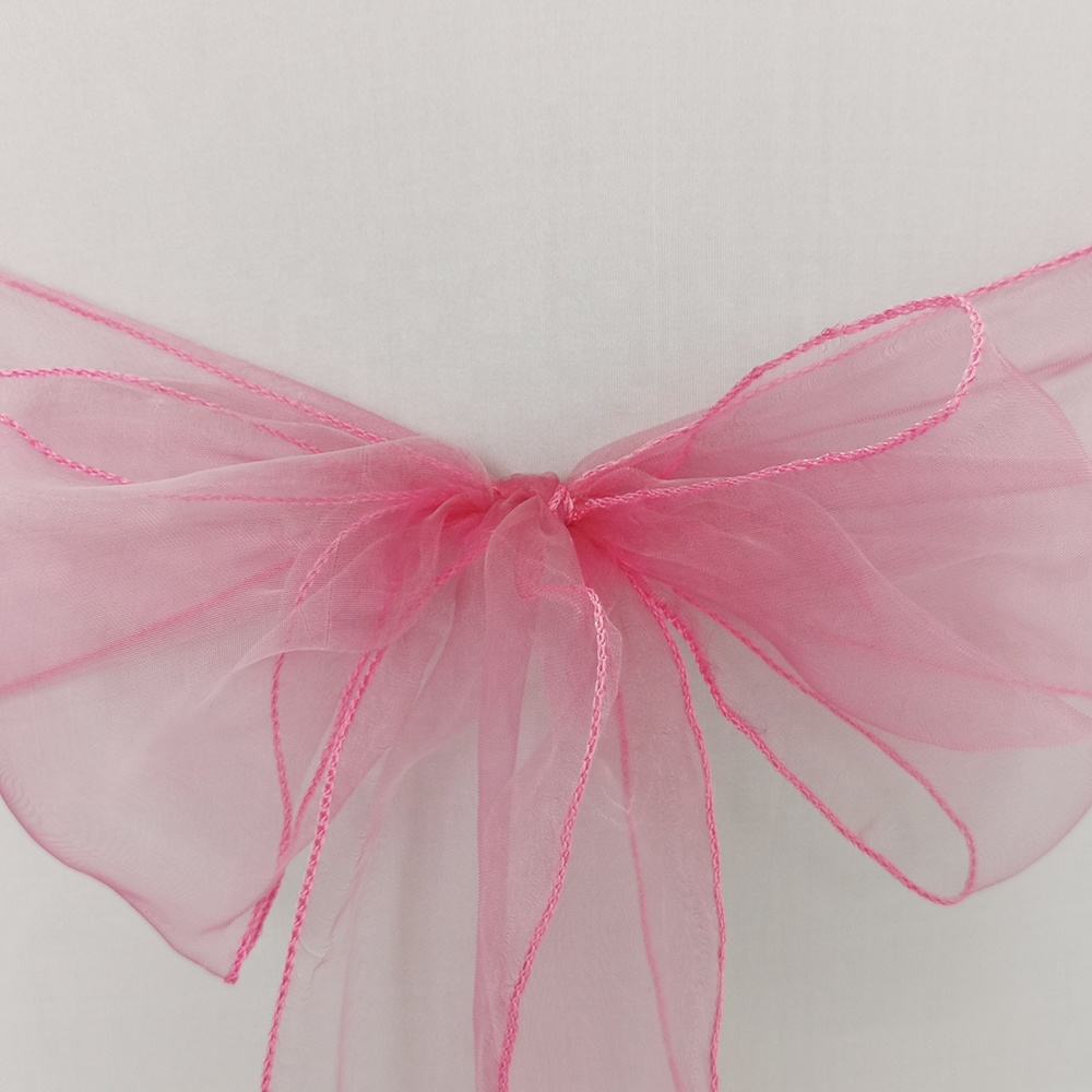Wedding and Events Supplies Party Decoration Chair Cover sash