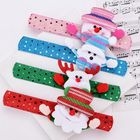2020 Good LED Snowman Christmas Kids Gifts Santa Claus Party Wristband Holiday Led/Glow Bracelet Christmas New Year Decoration