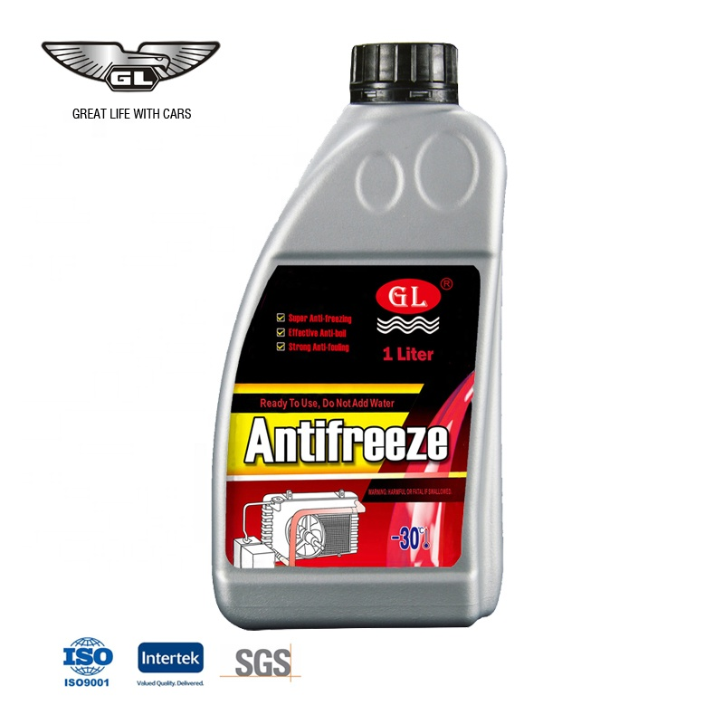 Red concentrated high quality auto antifreeze
