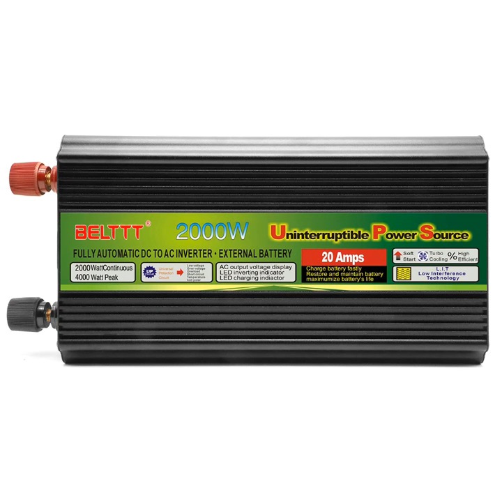 Factory Directly Supply  Power off Grid 2000W inversor with Charger