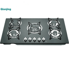 Glass Cooktop Burners Sabaf Burner Glass Stoves Gas Glass Panel Cooktop Table Top 5 Hobs Infrared Gas Stove Burners Gas Cooker