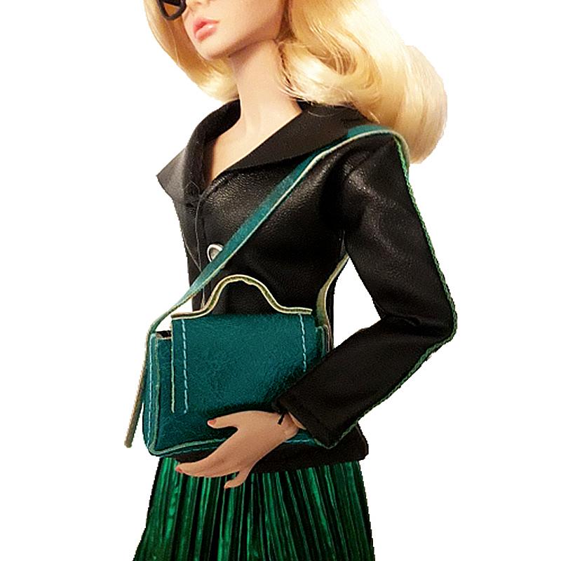 Кукла кожаная сумка с магнитной застежкой для Blythe BJD модные куклы HS018A