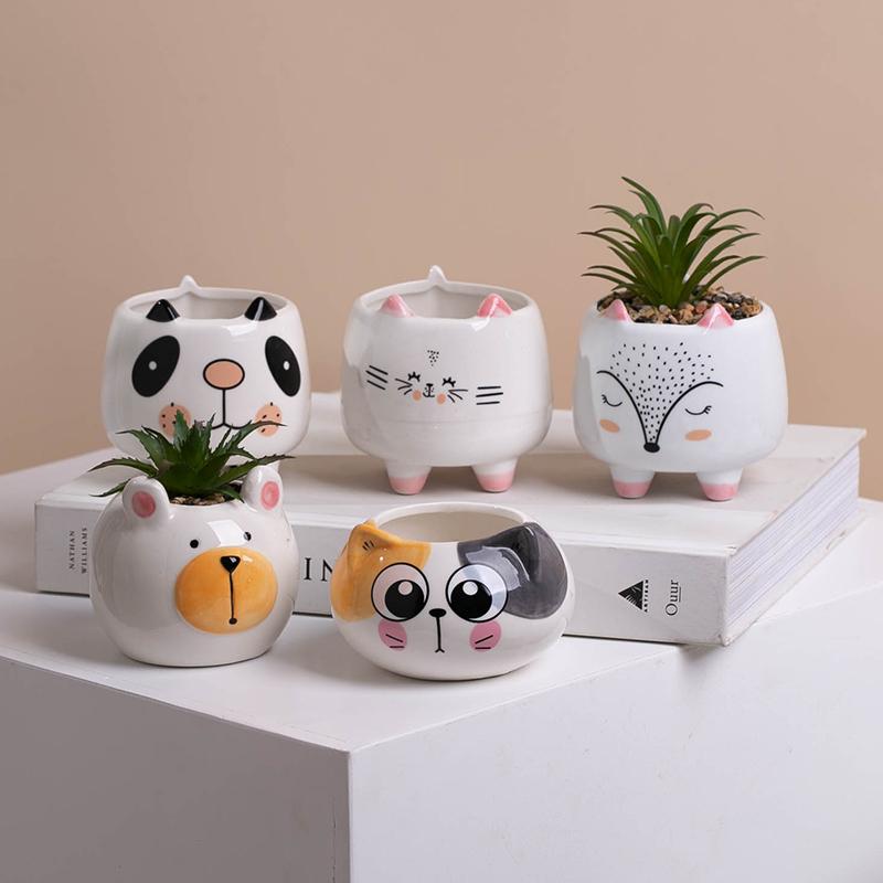 Plant pots Wholesale Manufacturer Planters Cheap Modern Decor Ceramic Pot Outdoor Bulk Planter Mini Small Flower Pots