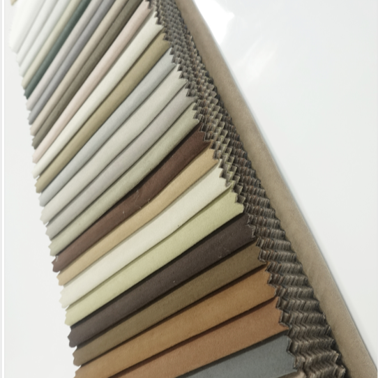 good quality suede fabric 100% polyester leather