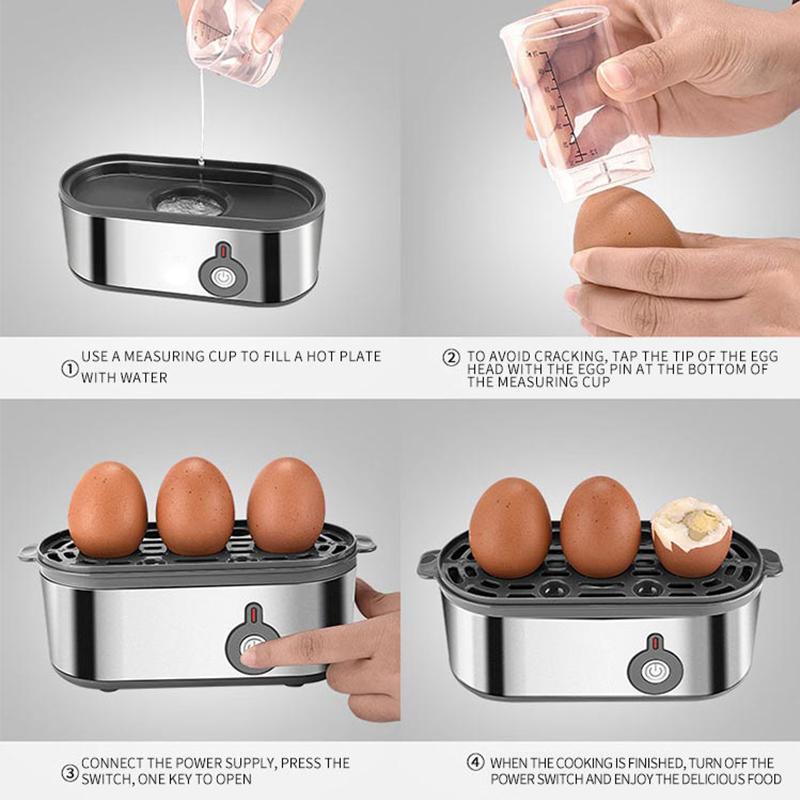 Оптовая продажа заказной многофункциональный автоматический удобный энергосберегающий экологичный яичный кипятильный