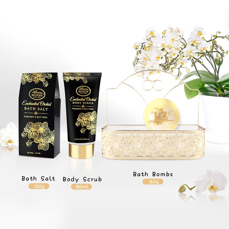 2021 новый гель для душа из кокоса под заказ, подарочный набор для ванны и геля для душа