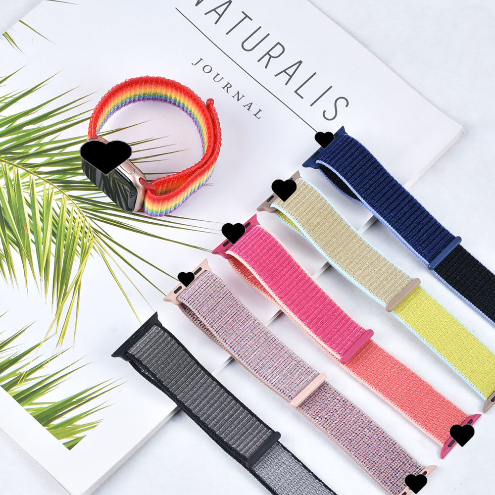 Metal Apple Watch Band Strap Milanese Loop Stainless Steel for Series 5 4 3 2 1 Size 44 42 40 38mm DHL Fashion Laser Gift FEDEX