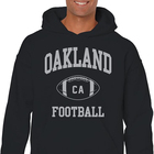 American Football Hoodies Oakland Football CA Team High Quality Football Fiber Hoodies With Pocket
