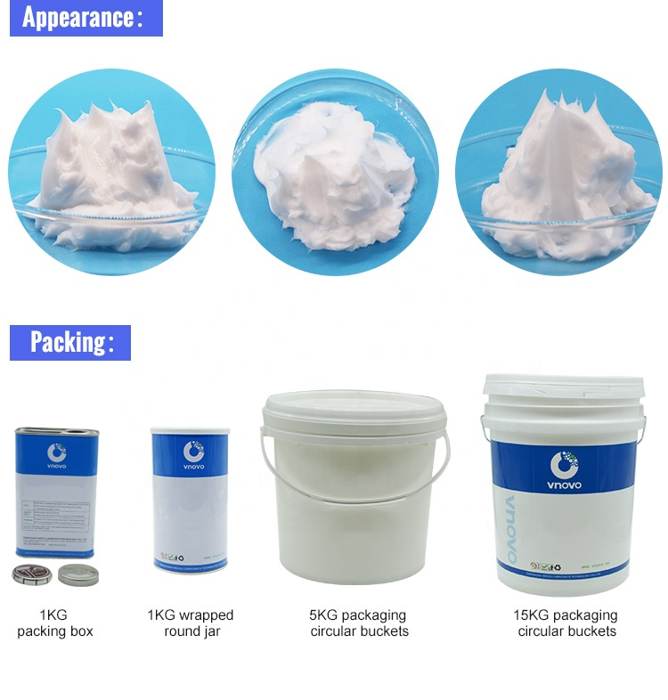 Food grade grease Silicone grease White grease with PTFE For Conveyor Bearings