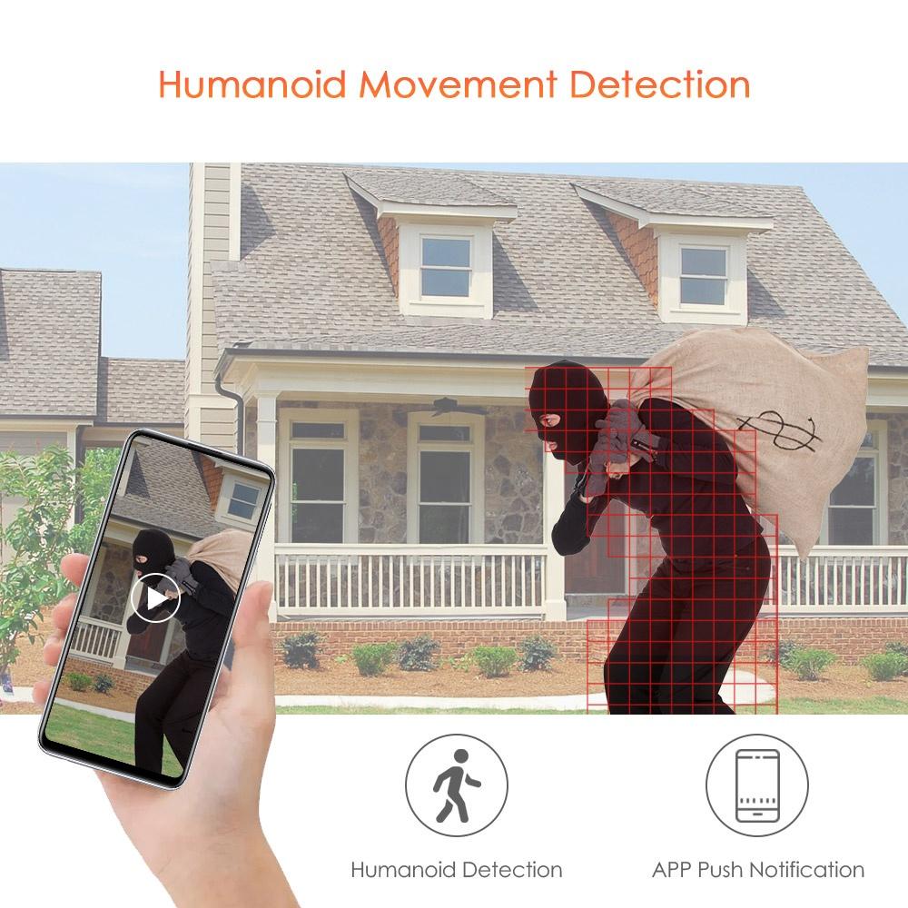 2MP 5MP 20X Optical Zoom 128GB SD Card Motorized 3G 4G LTE Wireless Outdoor WIFI Solar PTZ Camera H.265 70M IR Human Detection