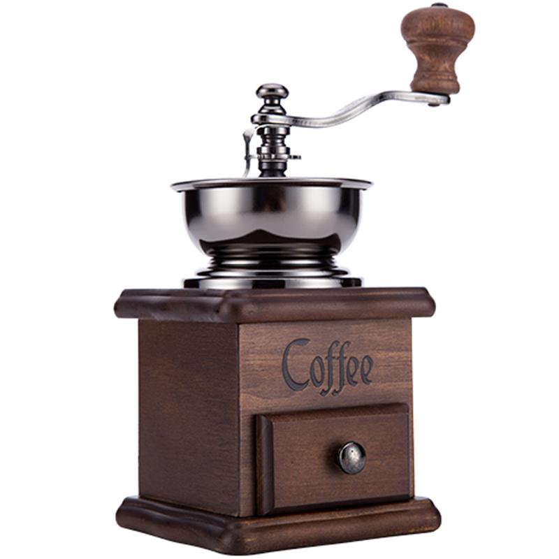 Ручной кофемолка ручной шлифовальный станок мельница для кофе в зернах шлифовальный круг обозрения дизайн кофемолка(Китай)