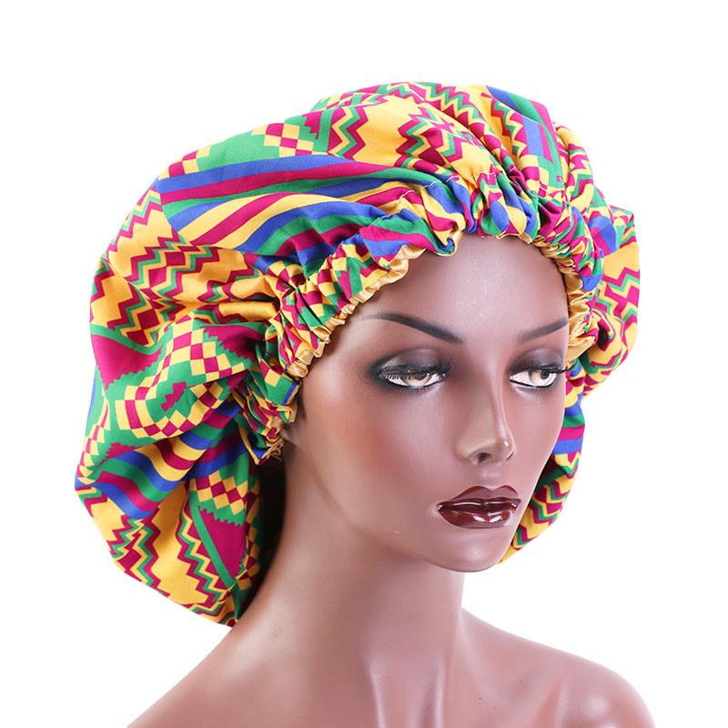 MXCHAN африканская Анкара головная оболочка американский стиль двухслойная шляпа