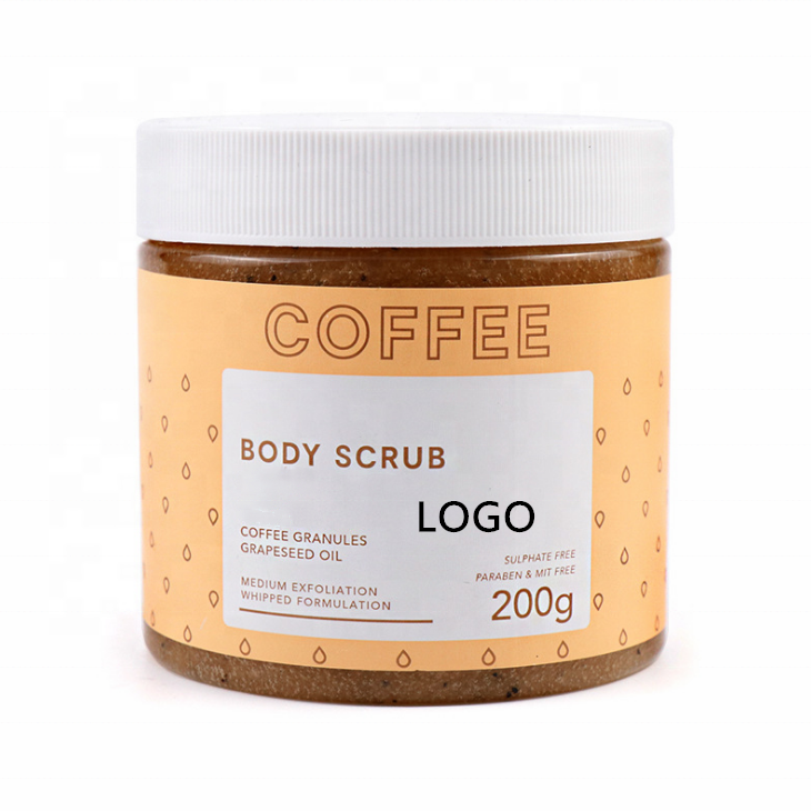 Deep Cleansing Coffee Exfoliator Skin Body Scrub OEM/ODM Private Label