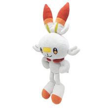 Pokemon plush Sobble Scorbunny Grookey мультяшный эльф фигурка плюшевые мягкие коллекционные игрушки для детей Рождественский подарок(Китай)