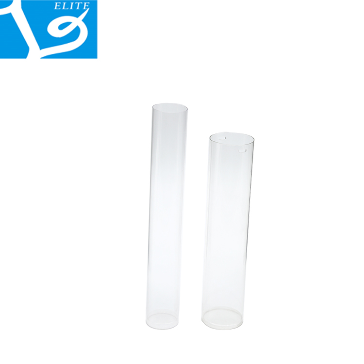 PETG/PVC Transparent Round Plastic Clear Packaging Tube
