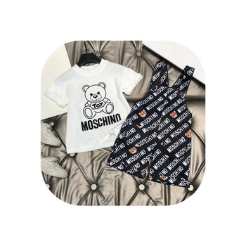 High-end children's clothing children's foreign-style overalls 2021 spring and autumn boys and girls baby cute foreign-style chi
