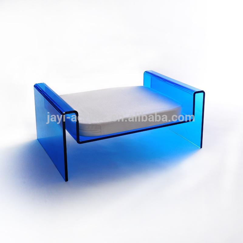 Оптовая продажа, сделанная на заказ прозрачная акриловая собачья будка ручной работы