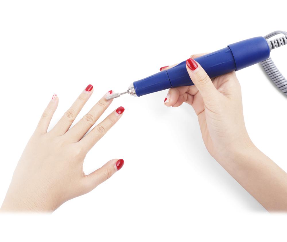 electric micromotor nail polishing unit 45000RPM Strong 210 105L nail polisher Korea
