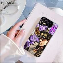 MaiYaCa JoJo Необычные Приключения JoJo аниме пользовательские мягкий чехол для телефона iPhone 11 pro XS MAX 8 7 6 6S Plus X 5 5S SE XR(Китай)