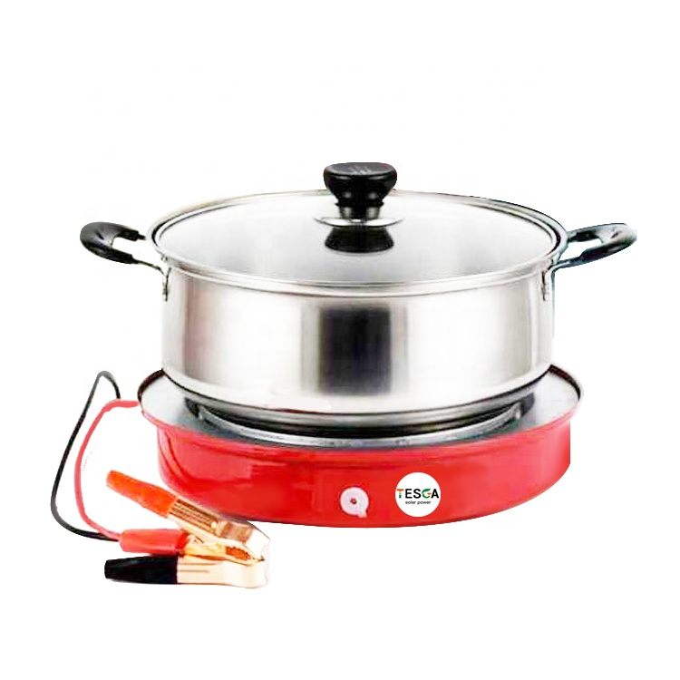 24V dc electric Induction cooker dc stove 400W use for car/truck/solar/battery