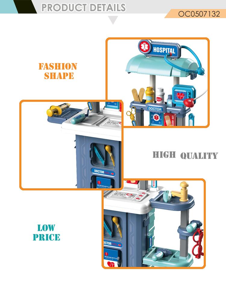 Многофункциональный чемодан 3 в 1, мобильные игрушки, кухонный игровой набор, приготовление пищи 2020 для детей