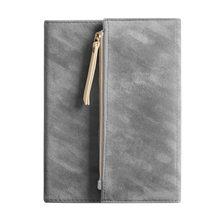 Простой кожаный дневник B6, мини-дневник Kawaii, школьные журналы, записная книжка, личный дорожный блокнот D40(Китай)