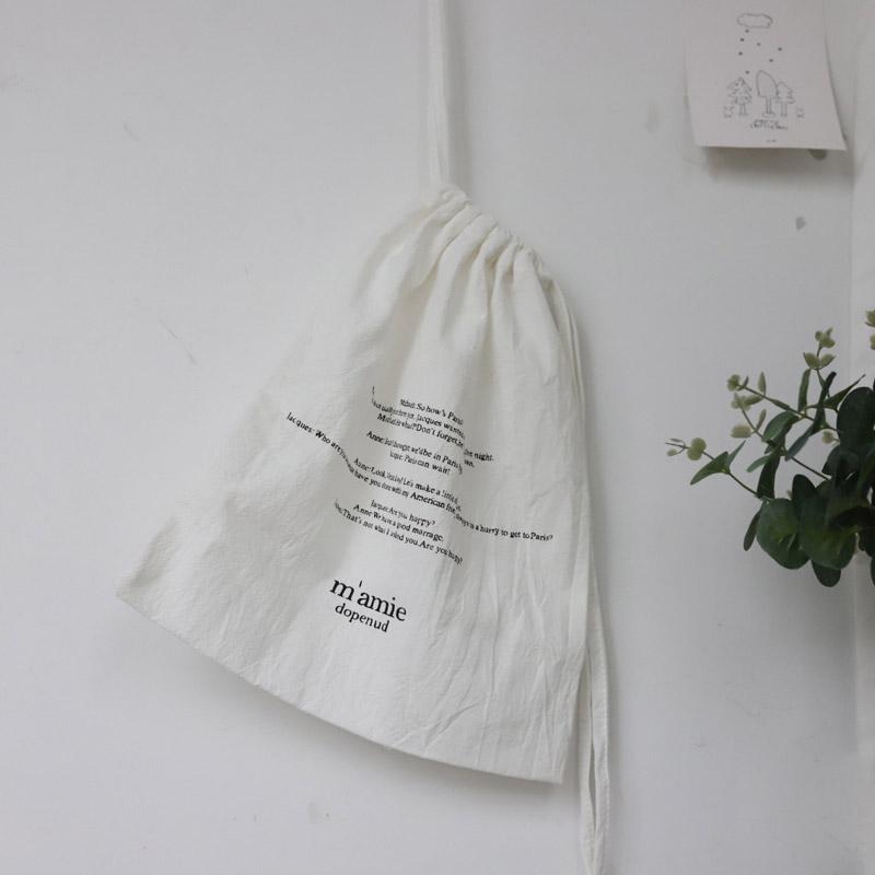 Хлопковый мешок на шнурке, мягкая льняная подарочная упаковочная сумка