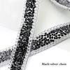 black+silver chain