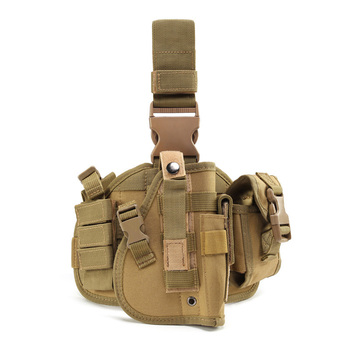 Multifunctional Tactical Molle Drop Leg Pistol Holster Glock Airsoft Thigh Gun Adjustable Hunting Leg Holster