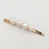 4 blanc perles-or