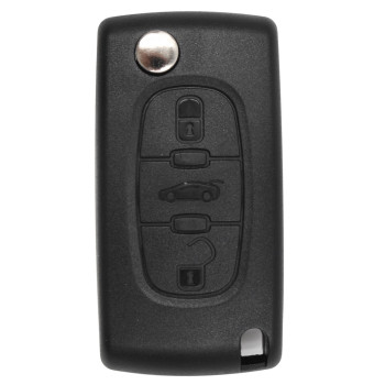 3 Button smart key car remote control For Citroen C2-C6 433Mhz PCF7941 Chip Transponder FCC ID CE0536