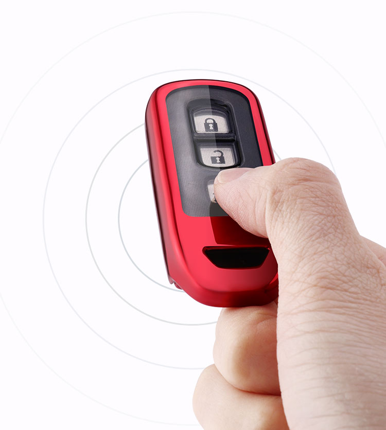 Чехол для автомобильного ключа для honda N-BOX NBOXN-ONE N-WGNN-VAN key shell VAN NVAN N TPU Защитный чехол