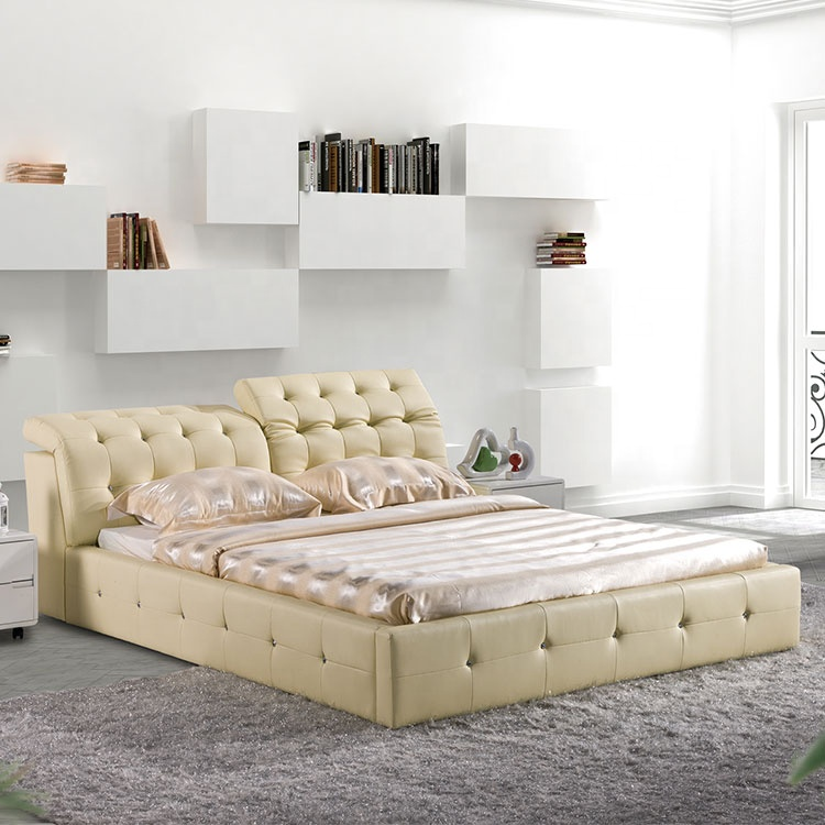 round pu leatherbed in pakistan doubleking size round bed  furniture on sale room home beauty natural bed set furniture modern