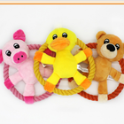 Duck Pet Supplies Pet Toy Pink Pig Bright Yellow Duck Dark Yellow Bear Pet Throwing Toy
