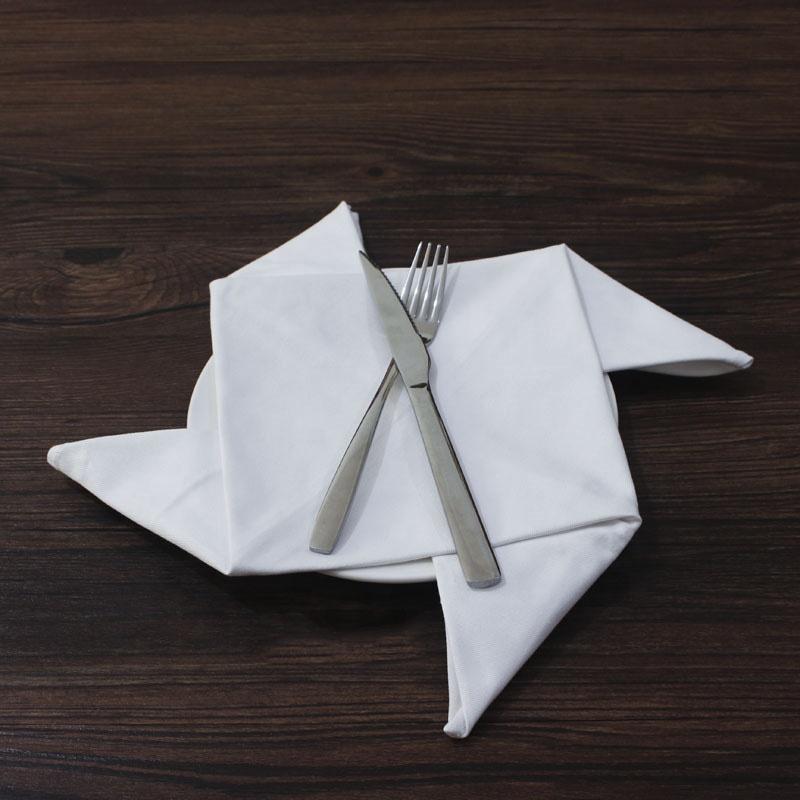 Soft and Comfortable Reusable Cotton Cloth Napkins for Weddings