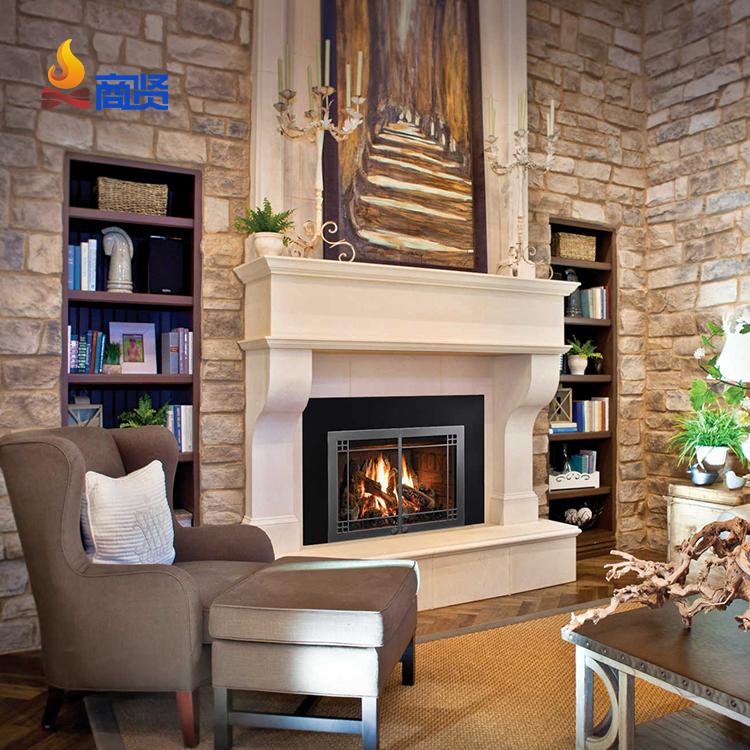 Встраиваемый декоративный нагреватель для помещений, электрический камин, 23 дюйма, сжигание по дереву