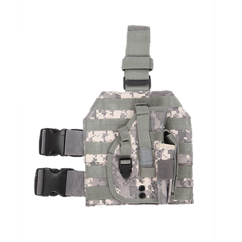 Heavy duty Molle Tactical Pistol Thigh Gun Holster Drop Leg Holster Adjustable