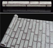 Papel де сравнению кирпичные обои BF обои водостойкие 3D стикер стены в рулоне размер 45 см * 10 м(Китай)