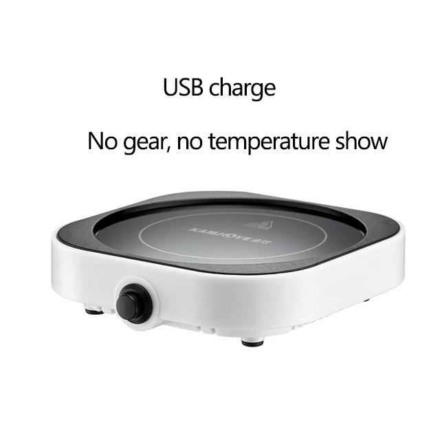 5 в подогреватель чашек, умный термостатический Горячий чайник, 3 шестерни, USB зарядка, нагреватель, настольный нагреватель для кофе, молока, ...(Китай)