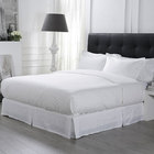 50% Discount Luxury 100% Egyptian Cotton Bedding Set 400TC 3cm Satin Stripe Hotel Quilt Cover and Bed Sheet