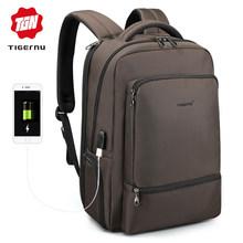 """Tigernu Водонепроницаемый нейлоновый рюкзак для путешествий Мужские рюкзаки для 15.6 """"ноутбуков для женщин Рюкзак для ноутбуков Досуг школьный ...(Китай)"""