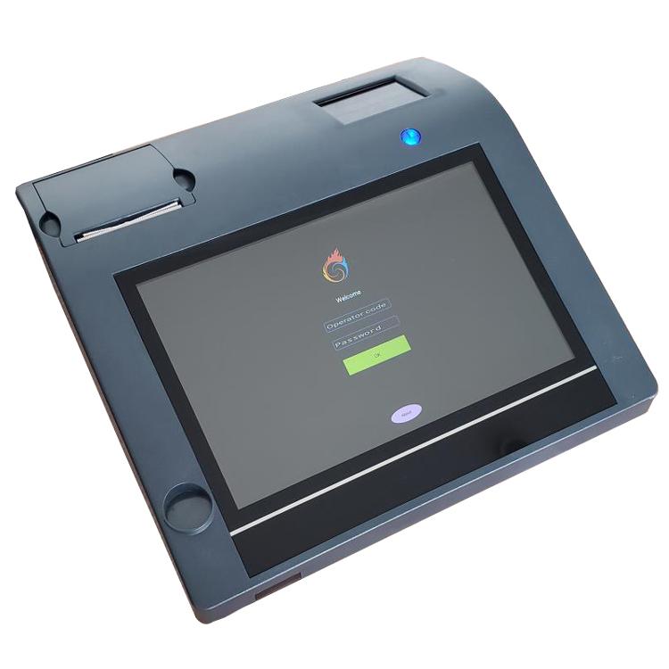 10,1 'емкостный сенсорный android POS терминал встроенный WIFI и принтер бесплатное программное обеспечение ECR кассовый аппарат
