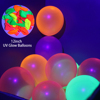 Colorful UV Balloons