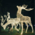 3D reindeer pattern lights Led Christmas reindeer lights highly1.5m