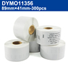 DYMO 11356(41x89mm-300pcs)