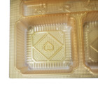 Plastic Tray Plastic Plastic Blister Thermoformed Gold Moon Cake Packaging Tray Custom