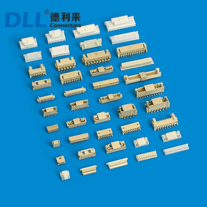 Шаг B6B-XH-A B7B-XH-A концевые кабельные муфты разъемы эквивалент JST разъем XH 2,54 мм Sma аудио и видео Концевые кабельные соединители